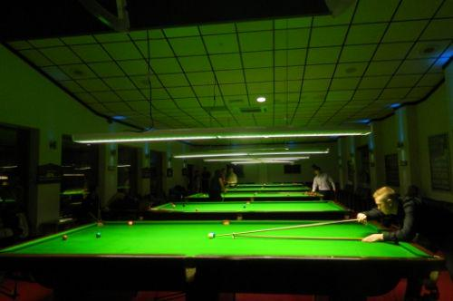 A snooker club