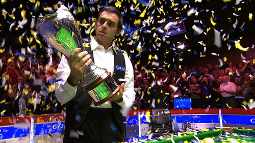 Ronnie victorious